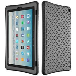 Bear Motion Silicone Case for Fire HD 10 2017 - Anti Slip Sh