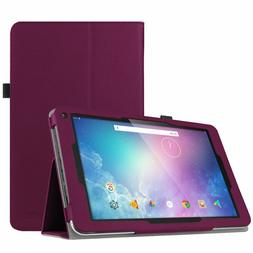 Slim Fit Folio Case Cover Stand For Dragon Touch V10 10-Inch