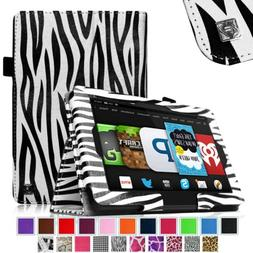 Fintie Slim Fit Stand Cover Leather Folio Case for Fire HD6