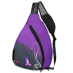 ICOLOR Sling Bag - Small Crossbody Backpack 15L Sports Outdo