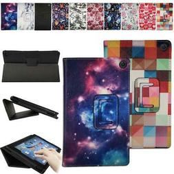 Smart Leather Stand Cover Case For Amazon  Fire 7 /HD 8 / HD