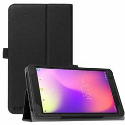 T-Mobile Alcatel A30 8-inch Tablet 9024W 2017 Case Leather F