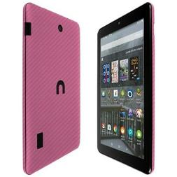 Skinomi TechSkin Pink Carbon Fiber & Screen Protector for No