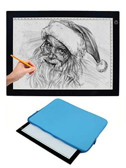 Vincilee A4 LED Tracing Light Box Tracing Tablet Ultra-thin