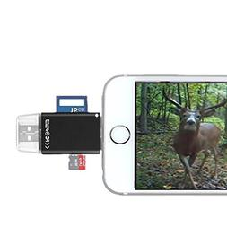 Trail/Game/SLR Camera Viewer for iPhone/iPad, Lightning to C