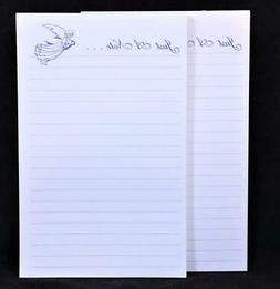 """Two  """"Just A Note....."""" 50 Sheet Lined Write-On Tablets."""