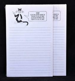 """Two  """"Why Is There Never Enough Time"""" 50 Sheet Lined Write-O"""