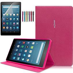 Mignova Ultra Slim Stand Cover with  for Fire HD 8 Tablet  +
