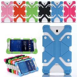 """For Universal 7"""" 8"""" 10"""" 10.1"""" Tablets Kids Shockproof Silico"""