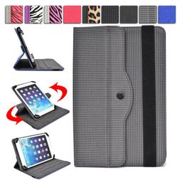 Universal 7 - 8 inch Tablet Slim Sleeve Folio Case Cover & R