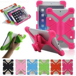 Universal Adjustable Shockproof Silicone Case Cover For 10.1