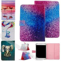 """Universal Case 7""""inch Tablet Accessories Folio Stand Flip Le"""