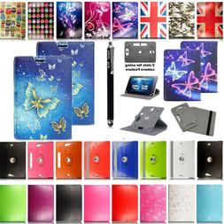 "Universal Folio PU Case Cover Stand For 7'' 8'' 9"" 9.7'' 10."