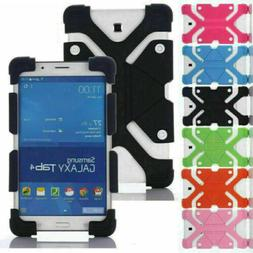 """Universal Kids Shockproof Soft Silicone Cover Case For 7"""" 8"""""""