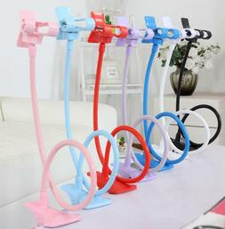 Universal Mobile Phone Tablet Mount Holder Flexible Long Arm