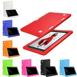 Universal Slim Silicone Cover Case For 10/10.1 Inch Android