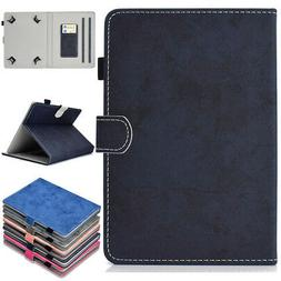 For Universal Tablet 7 8 10 Inch Pattern Leather Pencil Slot