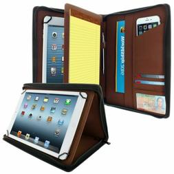 Universal Tablet Padfolio Case With Pockets Fits Tablets 8.5