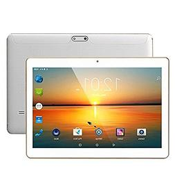 LLLCCORP Unlocked Pad 10 inch Octa Core 2.5Ghz 3G Tablet And
