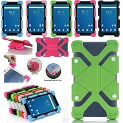 US For 7 - 8 inch Tablet PC Shockproof Silicone Case Cover U