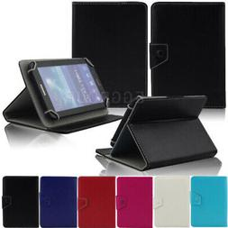 "US For 8"" 8 Inch Android Tablets Universal Adjustable Leathe"