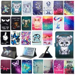 """US For 9.7"""" 10"""" 10.1"""" inch Tablet 2017 Universal Print Leath"""