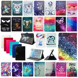 """For 7"""" 10"""" 10.1"""" Inch Android Tablet Universal Folio PU Leat"""