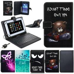 US For Sprint LG G Pad F2 8.0 LK460 Tablet PU Leather With K