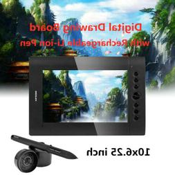 USB Huion H610 Pro Graphic Paiting Tablet Electric Drawing B