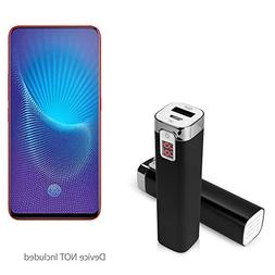 vivo NEX S Charger, BoxWave  2600 mAh Compact Portable Power