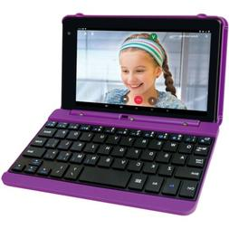 "RCA Voyager Pro 7"" 16GB Tablet with Keyboard Android os Purp"