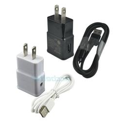 Wall AC Adapter + USB Charger Cable for Samsung Galaxy Tab 3