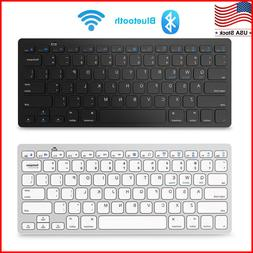 Wireless Bluetooth Keyboard For iOS Android Windows Mac OS P