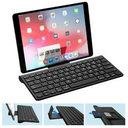 MoKo Wireless Bluetooth Keyboard w Removable Bracket Holder