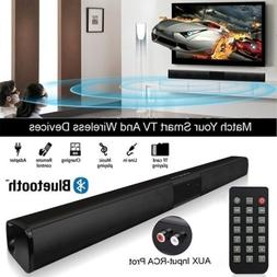 Wireless Bluetooth Soundbar Speaker TV Home Theater Subwoofe
