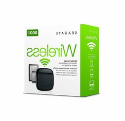 Seagate Wireless Mobile Portable Hard Drive Storage 500GB ST